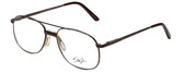 Dale Jr. Designer Eyeglasses DJ6807-SBR-57 in Satin Brown 57mm :: Custom Left & Right Lens
