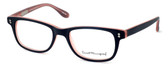 Ernest Hemingway Designer Eyeglasses H4617 in Matte-Black-Pink 52mm :: Custom Left & Right Lens