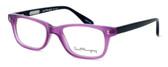 Ernest Hemingway Designer Reading Glasses H4617 in Purple-Black 52mm