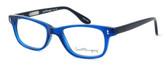 Ernest Hemingway Designer Reading Glasses H4617 in Black-Blue 52mm