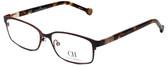 Carolina Herrera Designer Eyeglasses VHE065-0483 in Brown 53mm :: Custom Left & Right Lens