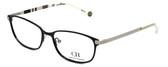 Carolina Herrera Designer Eyeglasses VHE059-0540 in Black 54mm :: Rx Bi-Focal