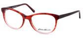Eddie Bauer Designer Eyeglasses EB8295 in Matte-Burgundy Fade 52mm :: Rx Bi-Focal