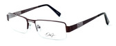 Dale Earnhardt, Jr. Designer Eyeglasses DJ6795 in Satin-Brown 55mm :: Custom Left & Right Lens