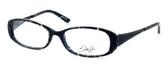 Dale Earnhardt, Jr. Designer Eyeglasses DJ6715 in Onyx 52mm :: Rx Single Vision