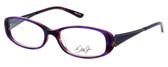 Dale Earnhardt, Jr. Designer Eyeglasses DJ6715 in Plum 52mm :: Rx Bi-Focal