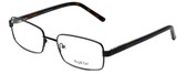 Big and Tall Designer Eyeglasses Big-And-Tall-1-Black in Black 60mm :: Rx Single Vision