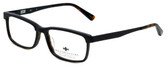 Argyleculture Designer Eyeglasses Mack in Black Tortoise 55mm :: Rx Single Vision
