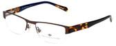 Argyleculture Designer Eyeglasses Sanders in Brown 55mm :: Progressive