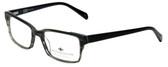 Argyleculture Designer Eyeglasses Campbell in Black 54mm :: Rx Bi-Focal
