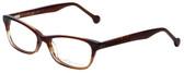 eyeOS Designer Reading Glasses Tamy in Rosewood 50mm