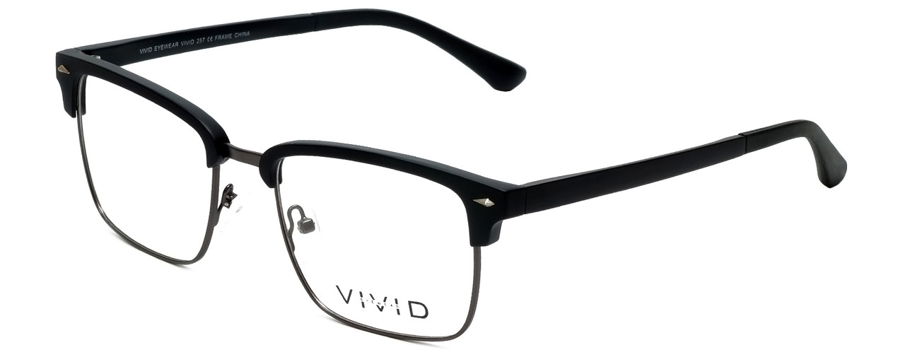 a9e30fa3906d Calabria Viv Designer Reading Glasses Vivid-257 in Black 52mm - Low ...