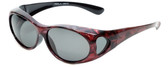 Calabria PC8866POL-JP-1 Polarized FitOver Sunglasses Medium Size
