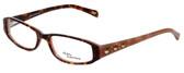 Daisy Fuentes Designer Eyeglasses DFNATALIE-145 in Tortoise Pink 51mm :: Rx Bi-Focal