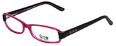 Daisy Fuentes Designer Eyeglasses DFPEACE410-130 in Berry Black 52mm :: Rx Bi-Focal