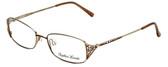 Sophia Loren Designer Eyeglasses SL-M177-183 in Brown/Gold 51mm :: Rx Single Vision