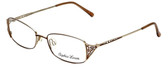 Sophia Loren Designer Eyeglasses SL-M177-183 in Brown/Gold 51mm :: Rx Bi-Focal