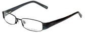 Via Spiga Designer Eyeglasses Lauria-520 in Black 51mm :: Custom Left & Right Lens