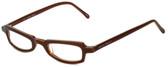 Ellen Tracy Designer Eyeglasses ET3011-BRN in Brown 47mm :: Custom Left & Right Lens