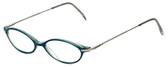 Ellen Tracy Designer Reading Glasses ET3004-TL in Teal 47mm