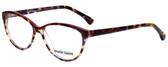 Marie Claire Designer Eyeglasses MC6201-TRE in Tortoise Red 53mm :: Progressive