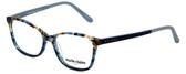 Marie Claire Designer Eyeglasses MC6209-BLA in Blue Amber 52mm :: Progressive