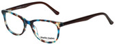 Marie Claire Designer Reading Glasses MC6237-TEB in Teal Brown 47mm