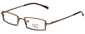 Hilary Duff Designer Eyeglasses HD121079-059 in Brown 48mm :: Rx Single Vision