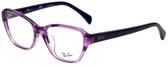 Ray-Ban Designer Eyeglasses RB5341F-5570 in Violet 55mm :: Rx Single Vision