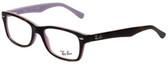 Ray-Ban Designer Reading Glasses RB1531-3700 in Tortoise Violet 48mm