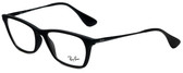 Ray-Ban Designer Reading Glasses RB7053-5364 in Matte Black 52mm