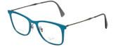 Ray-Ban Designer Reading Glasses RB7086-5640-51 in Blue 51mm