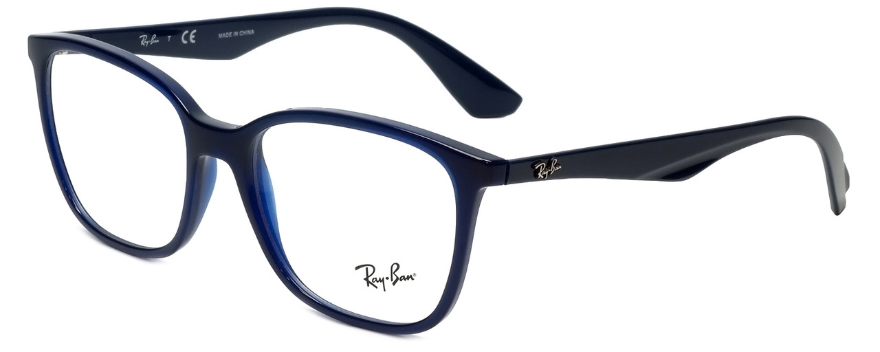 65d4fda406 Ray-Ban Designer Eyeglasses RB7066-5584-54 in Dark Navy 54mm    Progressive