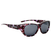 Jonathan Paul® Fitovers Eyewear Extra Large Allure in Grape Demi & Gray AU004