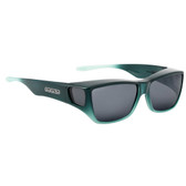 Jonathan Paul® Fitovers Eyewear Large Traveler in Emerald Jade Ombre & Gray TL006