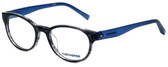 Converse Designer Reading Glasses Q014-Black-Stripe in Black Stripe and Blue 48mm