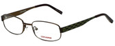 Converse Designer Eyeglasses K005-Brown in Brown 49mm :: Rx Single Vision