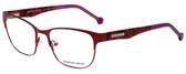 Jonathan Adler Designer Eyeglasses JA102-Red in Red 55mm :: Custom Left & Right Lens