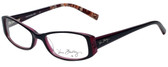 Vera Bradley Designer Eyeglasses 3001-PLM in Piccadilly Plum 51mm :: Custom Left & Right Lens