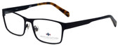 Argyleculture Designer Eyeglasses Calloway in Black Navy 55mm :: Rx Bi-Focal