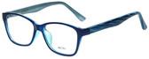 Metro Designer Reading Glasses Metro-23-Blue in Blue 47mm