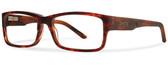 Smith Optics Designer Eyeglasses Rhodes in Dark Havana 54mm :: Custom Left & Right Lens