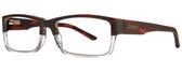 Smith Optics Designer Eyeglasses Rhodes in Matte Havana Crystal 54mm :: Rx Single Vision