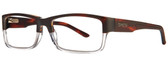 Smith Optics Designer Eyeglasses Rhodes in Matte Havana Crystal 56mm :: Rx Single Vision