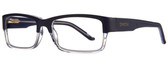 Smith Optics Designer Eyeglasses Rhodes in Blue Crystal 56mm :: Progressive
