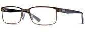 Smith Optics Designer Eyeglasses Sinclair in Bronze Havana 55mm :: Custom Left & Right Lens