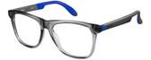 Carrera Designer Eyeglasses CA4400-0HBP in Grey Blue 53mm :: Custom Left & Right Lens