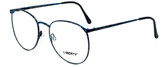 Liberty Optical Designer Eyeglasses LA-4C-4-53 in Blue Marble 53mm :: Rx Single Vision