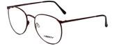 Liberty Optical Designer Eyeglasses LA-4C-1 in Brown Marble 55mm :: Rx Bi-Focal