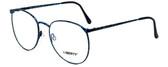 Liberty Optical Designer Eyeglasses LA-4C-4-53 in Blue Marble 53mm :: Rx Bi-Focal